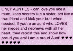 Being An Aunt Quotes Aunt quotes for facebook