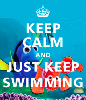 ... quote finding nemo dory picture finding nemo quotes dory just keep