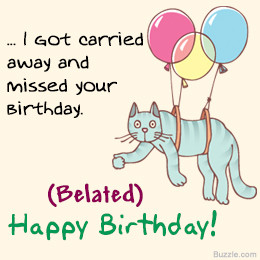Belated Birthday Quotes For Friends Wishing someone