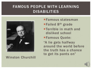 Learning Disability Quotes With Learning Disabilities