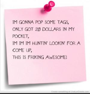Thrift Shop Quotes. QuotesGram - 17.5KB