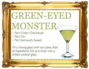 far more palatable green eyed monster.