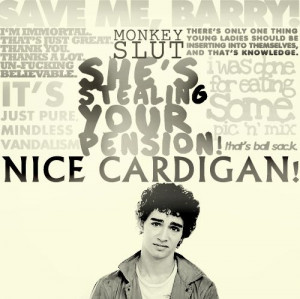 Nathan Young, The Misfits. Best show ever! (that is... seasons 1-3). # ...