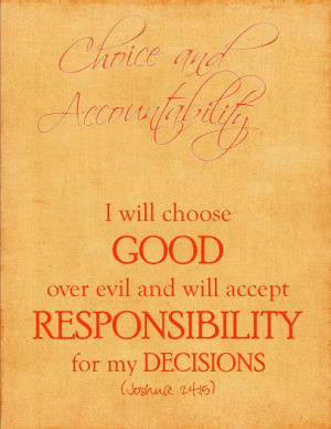 Choice, Integrity, Knowledge and Virtue