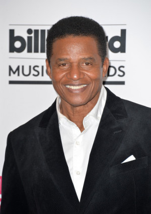 Jackie Jackson Musician Jackie Jackson poses in the press room during
