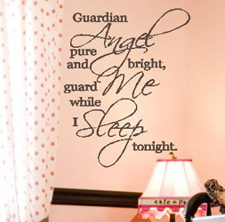 ... Angel Pure And Bright Guard Me While I Sleep Tonight -Angel Quote