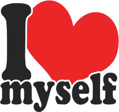 ... Funny TV Movie Quote T-Shirts > Funny T-Shirts > I Love Myself T-Shirt