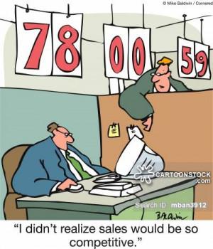 Sales Targets Cartoons...