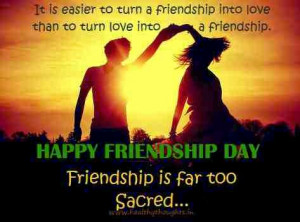 Happy Friendship Day Girl And Boy Pics,Images,Photos,SMS And Quotes