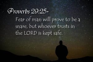 Scripture To Overcome Fear | Bible Verses About Fear