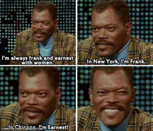 Samuel L. Jackson Is A Ladies' Man | Funny Pictures and Quotes