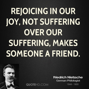 Friedrich Nietzsche Friendship Quotes