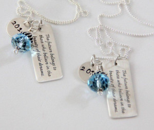 Quotes about daughters two dream inspirational graduation gifts for by ...