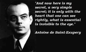 Antoine de Saint Exupery Quotes Page 7