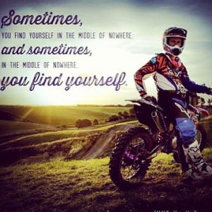 Dirt Bike Quotes Tumblr Motocross quote - quoteko.com
