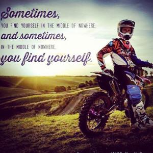 Dirt Bike Quotes Tumblr Motocross quote - quoteko.com