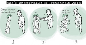Frankenstein Quote Interpretation by kiku-chan13