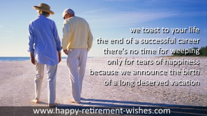 inspirational retirement wishes for friend