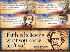 Were The Founding Fathers Atheists . Christian Deism . Of only, or ...
