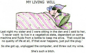 Funny Cartoon Strip About Mom Getting Old