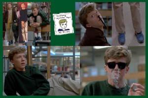 The Breakfast Club Anthony Michael Hall Brian johnson [anthony michael