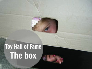 The Toy Hall of Fame: The Cardboard Box