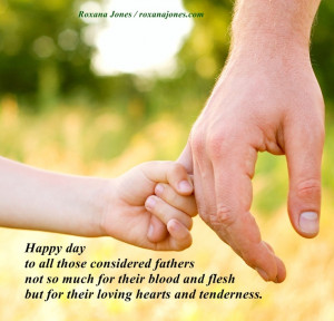 Inspirational quote: Father's Day