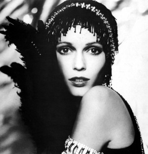... in character as Daisy Buchanan from the Movie The Great Gatsby . 1974