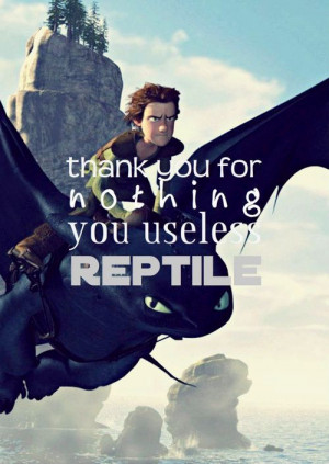 How To Train Your Dragon Love Quotes
