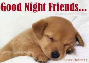 Cute Good Night Picture For Facebook