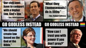... let them know how you feel about them allowing atheists to crash CPAC