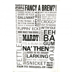 ... and Tidy › JollySmith › JollySmith Yorkshire 100% Cotton Tea Towel