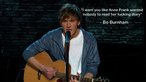 Bo Burnham Quote On Anne Frank's Personal Diary