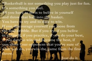 encouraging basketball quotes for players