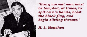 mencken famous quotes 3