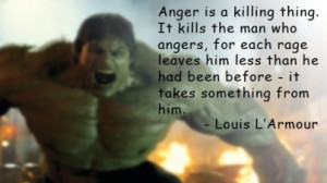 When angry, count to four. When very angry, swear.
