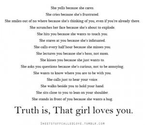 aww, girls, love, quote