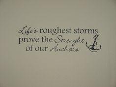 Anchor Sayings