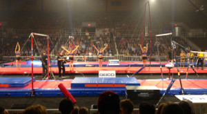 Maddy Curley Gymnastics Gymnasts one at a time.