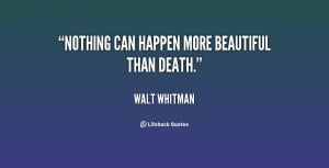 Beautiful Death Quotes
