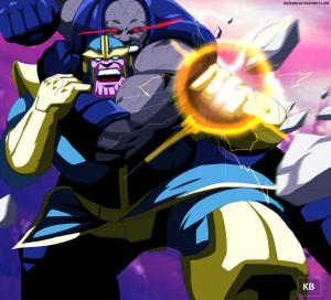 Marvel Thanos Vs Darkseid