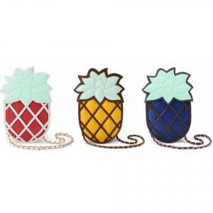 Home Pineapple Chain Purse Cute Kawaii