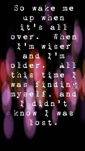 Avicii - Wake Me Up - song lyrics , song quotes, | Song Lyrics I L…