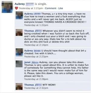 ... Breaks up with Boyfriend and facebook just help to make it go viral
