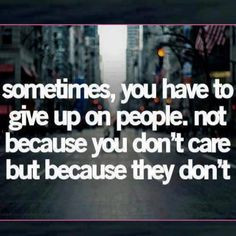 This is so true. Hate it! But real! Sometimes means family members too ...
