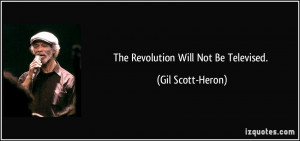 Gil Scott-Heron Quote