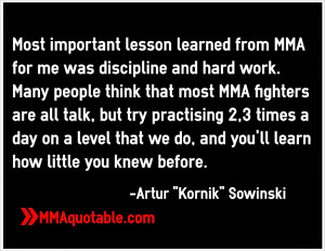 Best Mma Fighter Quotes