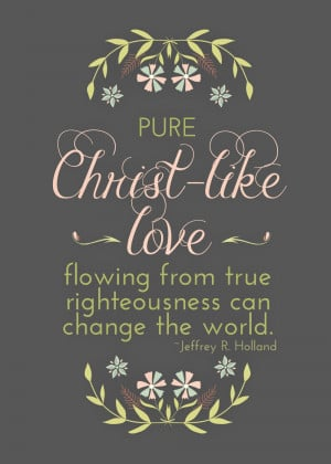 Loved it when Elder Holland said,