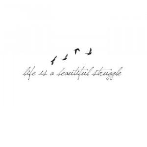 life is a beautiful struggleTattoo Rib, Gorgeous Tattoo, Rib Tattoo ...