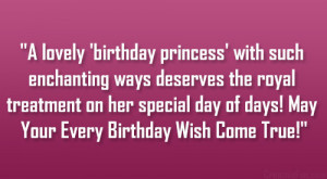Sweet Quotes For Her Birthday ~ 17 Sweet Happy Birthday Quotes